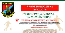 Akademia Wilga nabór do rocznika 2012/2013